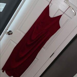 Beautiful Dress with Leg Slit